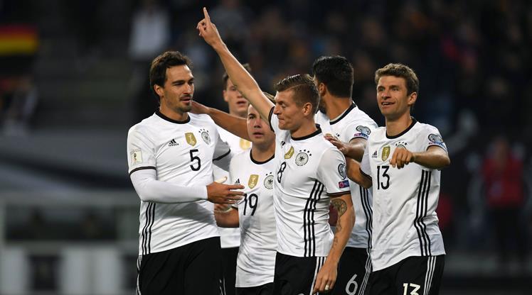 Almanya - Çek Cumhuriyeti:3-0