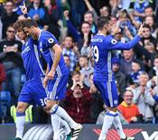 Chelsea son şampiyonu dağıttı (ÖZET)