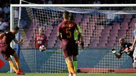 Napoli oynadı, Roma attı! Dzeko bu hatayı affeder mi?