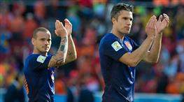 İşte Hollanda'nın kadrosu! Sneijder, Van Persie ve Lens...