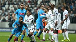 Beşiktaş - Napoli: 1-1