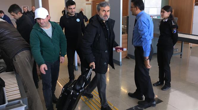 Konyaspor Ukrayna'ya hareket etti