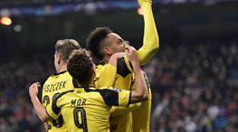 Real Madrid: 2 - Borussia Dortmund: 2