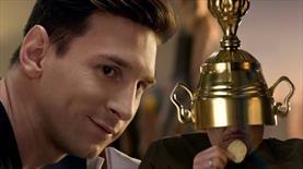 Lionel Messi, Gary Lineker'le reklam filmi çekti