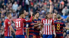 Filipe Luis'e 3 maçlık 'Messi' cezası