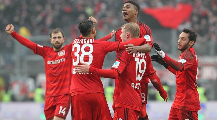 Hakan girdi, Leverkusen geriden geldi!