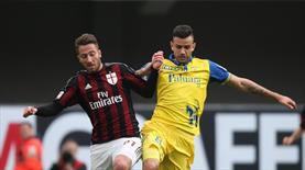 Milan Chievo'ya takıldı (ÖZET)