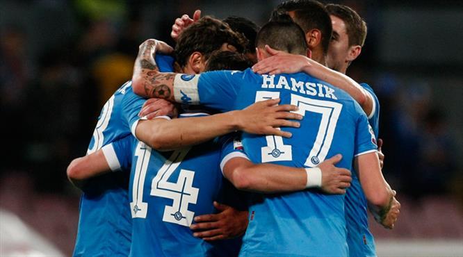 Napoli'den yarım düzine gol (ÖZET)