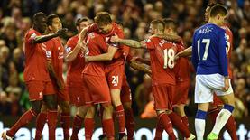Liverpool Everton'ı parçaladı!.. (ÖZET)