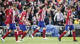 Atletico Madrid - Bayern Münih: 1-0