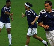 Eto'o, Ronaldinho ve diğerleri! Efsaneler Meksika'da buluştu!