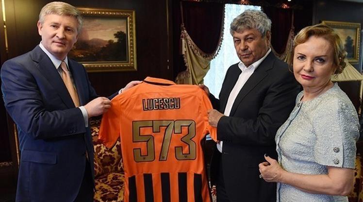 Lucescu'ya özel veda töreni