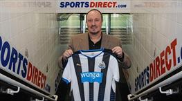 Newcastle herşeye rağmen Benitez dedi