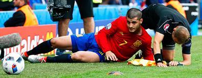 Morata'dan hakeme 'kartlık' müdahale!..