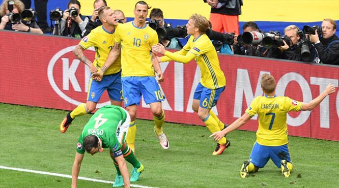 Ve Ibrahimovic sahnede! Onu yine kimse durduramadı...