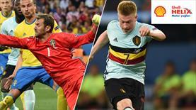 Sizce İsveç - Belçika maçında en yüksek performansı kim sergiledi?