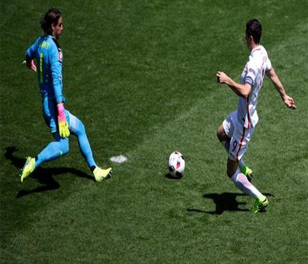 Lewa yine tarihe geçiyordu! Euro 2016'nın en erken golü kaçtı!