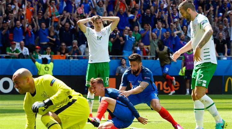 Griezmann durmuyor! İrlanda'nın hayallerini böyle yıktı