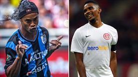 Antalyaspor başkanı Ali Şafak Öztürk'ten flaş açıklama! ''Eto'o ve Ronaldinho...''