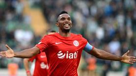 Eto'o'dan Beşiktaş için büyük fedakarlık!