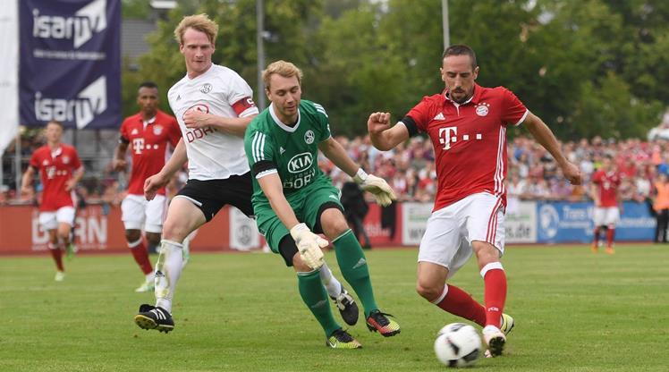 Ribery öyle bir gol kaçırdı ki...