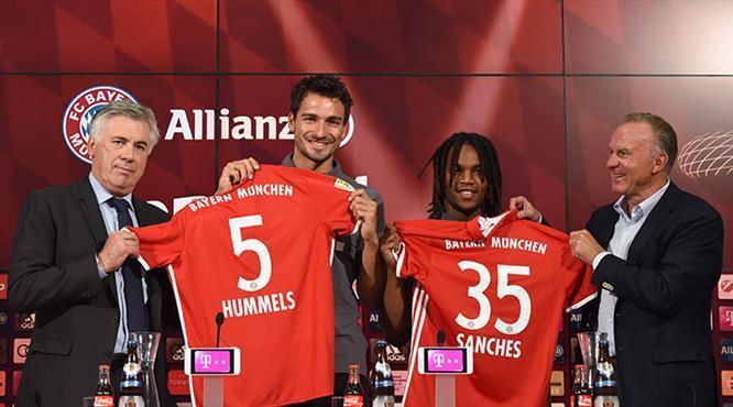 Bayern yeni yıldızlarını tanıttı!..