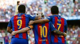 Barcelona'da yeni moda bu üçlü: Suarez-Messi-Arda! (ÖZET)