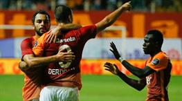 Akhisar Belediyespor - Galatasaray: 1-3 (ÖZET)