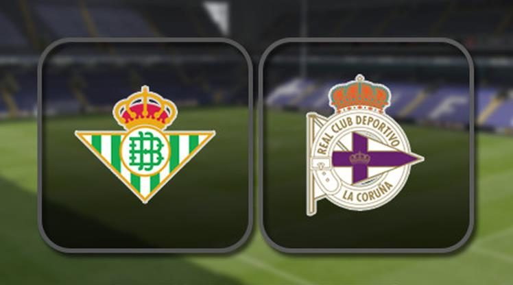 Real Betis - Deportivo La Coruna (CANLI)