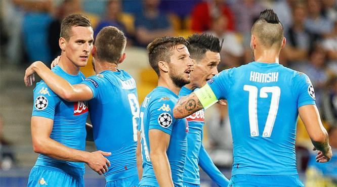 Dinamo Kiev-Napoli: 1-2