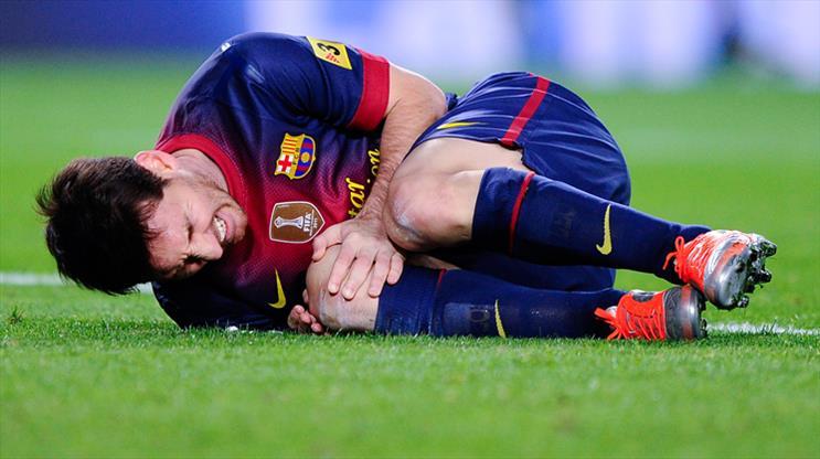 Messi'ye yapılan 11 insanlık dışı faul!