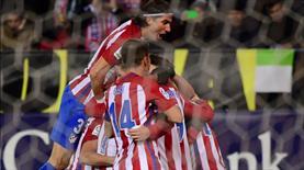 Atletico'yu Gaitan sırtladı! (ÖZET)