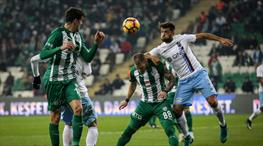 Bursaspor'da mağlubiyet üzüntüsü