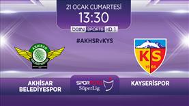 Akhisar Belediyespor - Kayserispor