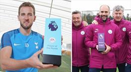 Ödüller Guardiola ve Kane'e