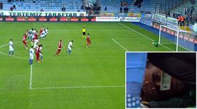 Önce bayıldı, sonra penaltıyı kurtardı!