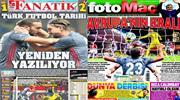 Türkiye sizinle gurur duyuyor! Manşetlerde Beşiktaş var!