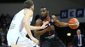 Gaziantep Basketbol Litvanya'da dağıldı