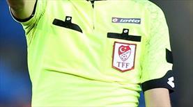 TFF 1. Lig'de haftanın hakemleri açıklandı