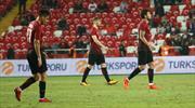 İşte Türkiye - Arnavutluk maçının özeti