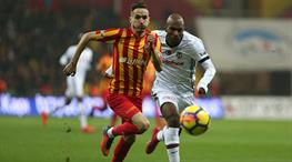 İşte Kayserispor - Beşiktaş maçının özeti
