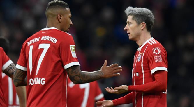 Bayern Lewandowski'ye duacı