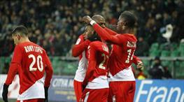 4-0! Monaco durdurulamıyor! (ÖZET)