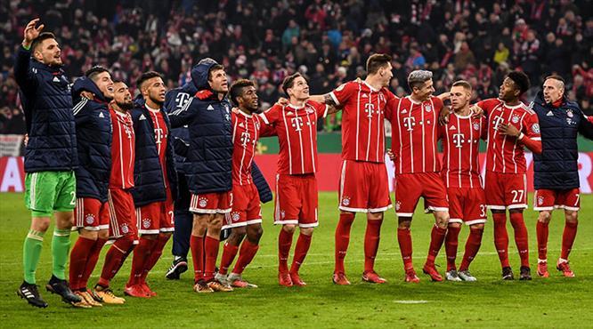 Dev eşleşmede zafer Bayern'in