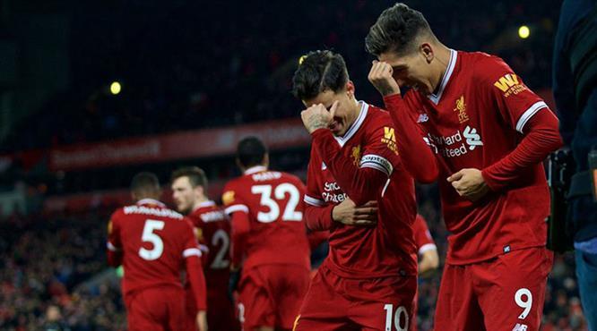 Liverpool gol oldu yağdı (ÖZET)