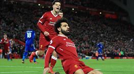 Liverpool'un gol makinesi iş başında (ÖZET)