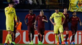 Dzeko coştu, Roma Villarreal'i gole boğdu
