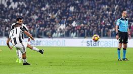 Dybala'dan mükemmel frikik golü! Juve farkı ikiye çıkardı!