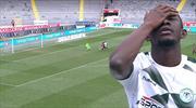 Fofana bu golü kaçırdı, sonra yıkıldı!
