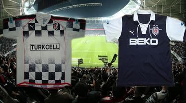 Beşiktaş'ın nostaljik formaları